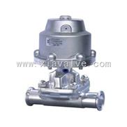 盖米型卫生级气动隔膜阀|不锈钢隔膜阀