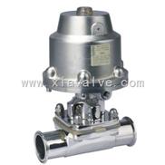 BDG-22F-快装式卫生级气动隔膜阀|不锈钢隔膜阀