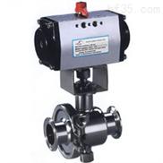 Q681F-氣動衛生球閥
