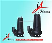 排污泵,WQK切割式潜水排污泵,三洋排污泵吸程,切割式排污泵选型