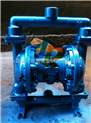 供应QBY-25铝合金气动隔膜泵 衬氟隔膜泵 氟塑料隔膜泵