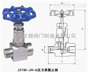 J21W-JH-b壓力表截止閥;針型閥