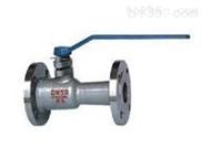 Q41M/PPL不銹鋼整體高溫球閥