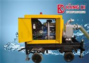 KDCM移动式柴油机自吸排污泵机组/上海柴油机自吸泵厂