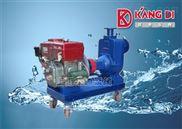 KDC农用型抗旱抢险灌溉柴油机自吸泵/上海小型单缸柴油机排污泵厂