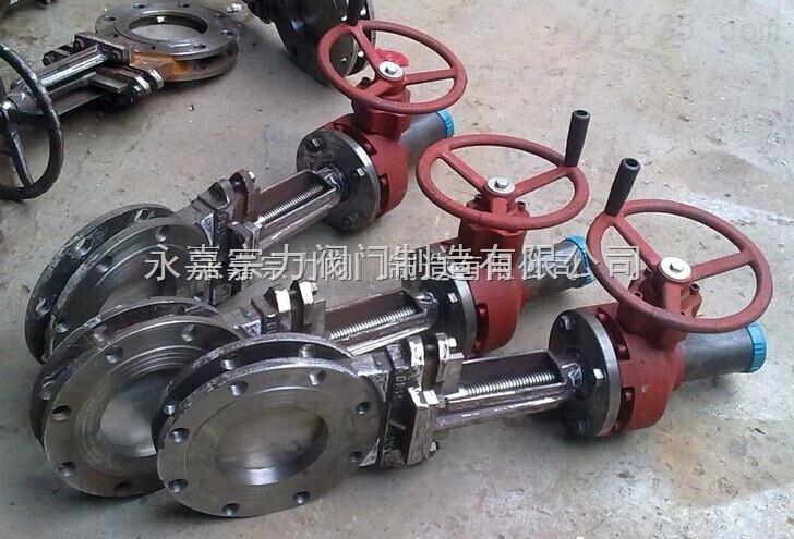 pz573h 伞齿轮耐磨刀型闸阀图片
