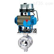 VQ647气动V型球阀
