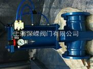 气动电动管夹阀