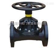 上海冠环G46J直通式隔膜阀,上海阀门厂