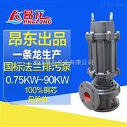 小型水泵220v家用农用潜水排污泵