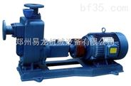 ZW自吸式排污泵性能参数 卧式铸铁无堵塞排污泵报价