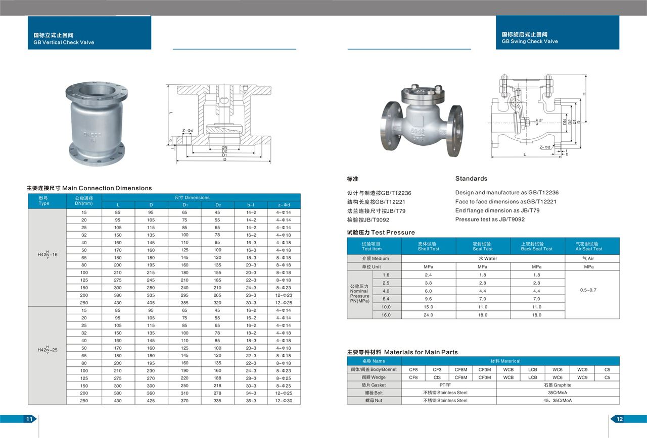 止回阀,止回阀规格型号,止回阀结构图片-中国泵阀商务